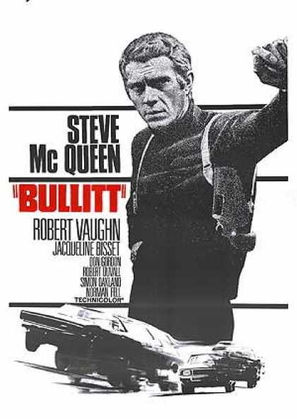 Essential Movies - Bullitt Poster
