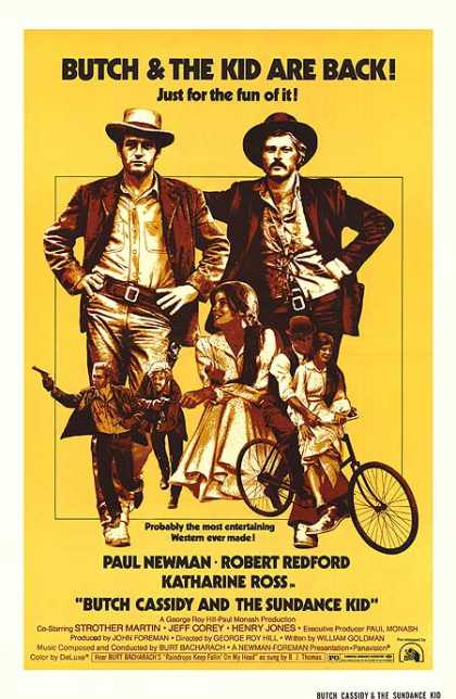 Essential Movies - Butch Cassidy And The Sundance Kid Poster