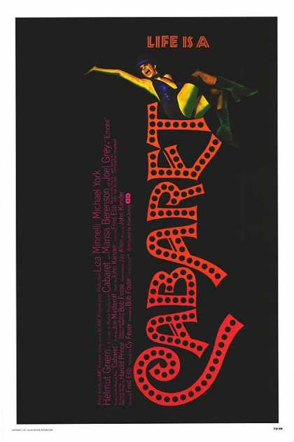 Essential Movies - Cabaret Poster