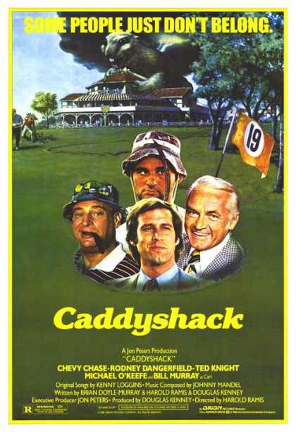 Essential Movies - Caddyshack Poster