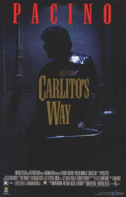 Essential Movies - Carlito's Way Poster