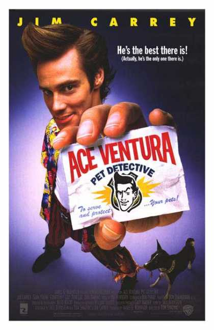 Essential Movies - Ace Ventura: Pet Detective Poster