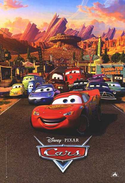 Essential Movies - Cars Poster