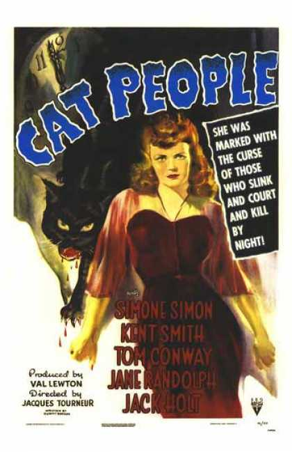 Essential Movies - Cat People Poster