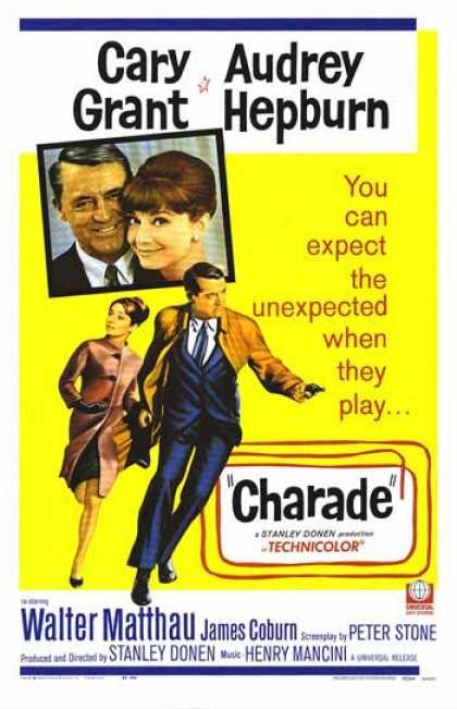 Essential Movies - Charade Poster