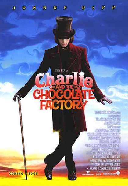 Essential Movies - Charlie And The Chocolate Factory Poster
