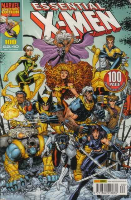 Essential X-Men 100