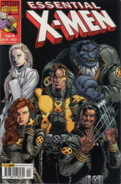 Essential X-Men 124