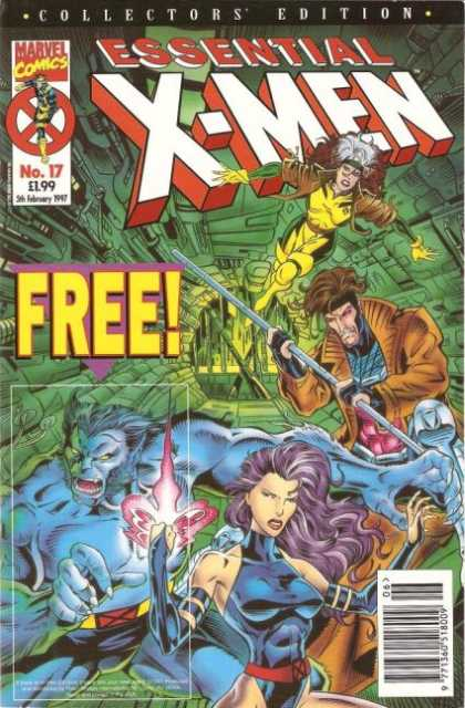 Essential X-Men 17