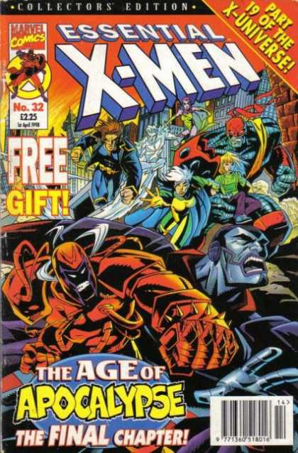 Essential X-Men 32