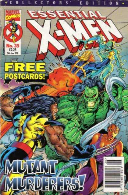 Essential X-Men 35
