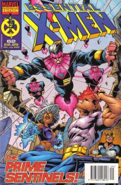 Essential X-Men 62