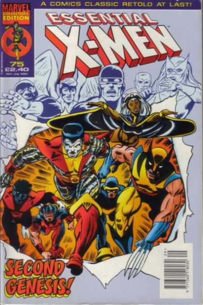 Essential X-Men 75