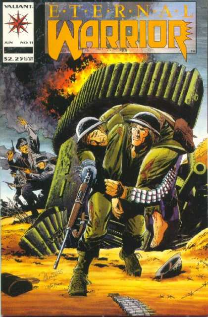 Eternal Warrior 11 - Valiant - Valiant Comics - War - Nazis - Army