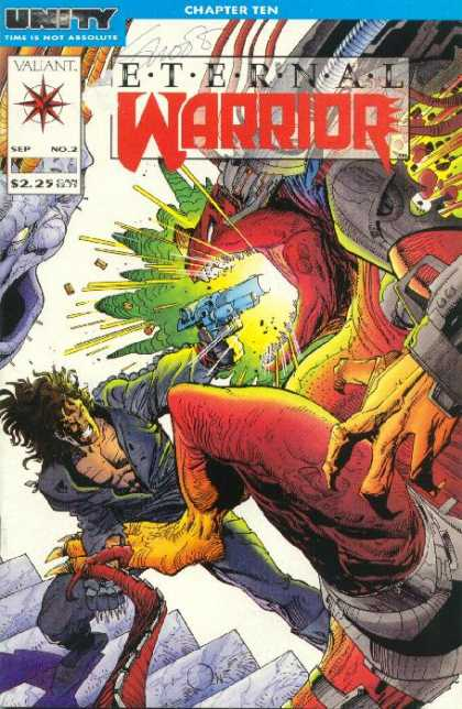 Eternal Warrior 2 - Colorful - Flash - Illuminations - Danger - Options - Walter Simonson