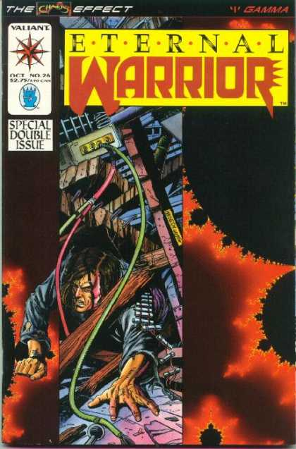 Eternal Warrior 26 - Fire - Pain - Death Fighter - Red Danger - Power Eclipse - Bob Layton