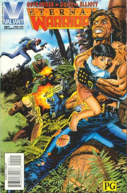 Eternal Warrior 40 - Valiant - No 40 - Ostrander - Guice - Elliott - Paul Gulacy