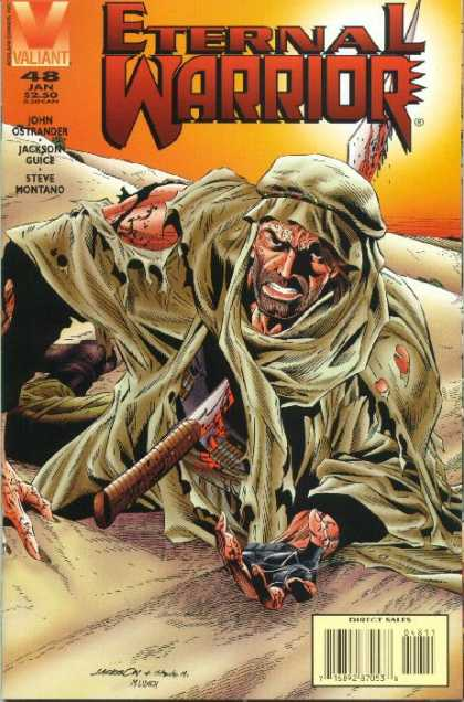 Eternal Warrior 48 - Issue 48 Jan - Joh Nostrander - Desert - Stabbed - Knife