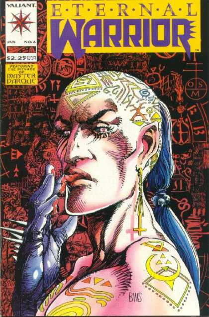 Eternal Warrior 6 - Valiant - Master - Darque - The Menace - Featuring - Barry Windsor-Smith