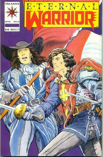 Eternal Warrior 8 - Sword - Hat - Gloves - Flag - Cross - Barry Windsor-Smith