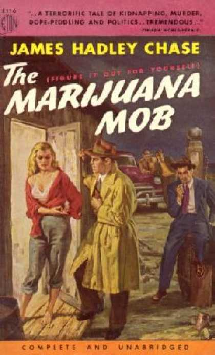 Eton Books - The Marijuana Mob - James Hadley Chase