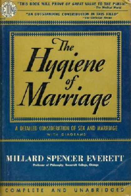 Eton Books - The Hygine of Marriage - Millard Spencer Everett