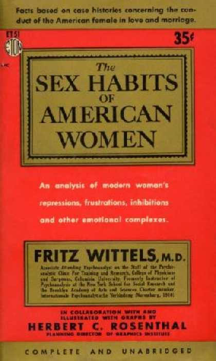 Eton Books - The Sex Habits of American Women,