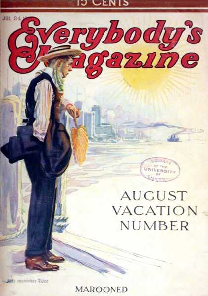 Everybody's Magazine - 8/1911