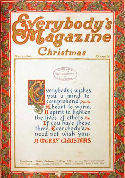 Everybody's Magazine - 12/1911