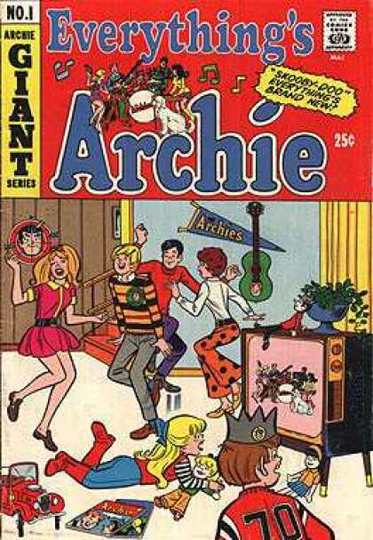 Everything's Archie 1 - Dolls - Dancing - Television - Guitar - Band Playing
