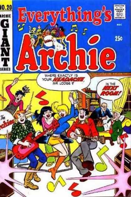 Everything's Archie 20 - Jughead - Drums - Party - Reggie - Betty