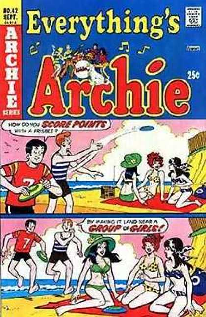 Everything's Archie 42 - Frisbee - Beach - Sunbathing - Bikini - Ocean