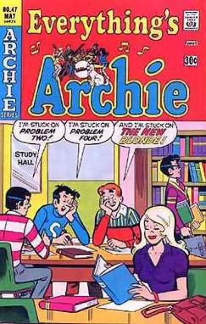 Everything's Archie 47 - Approved By The Comics Code Authority - May - Archie Series - Books - Study Hall