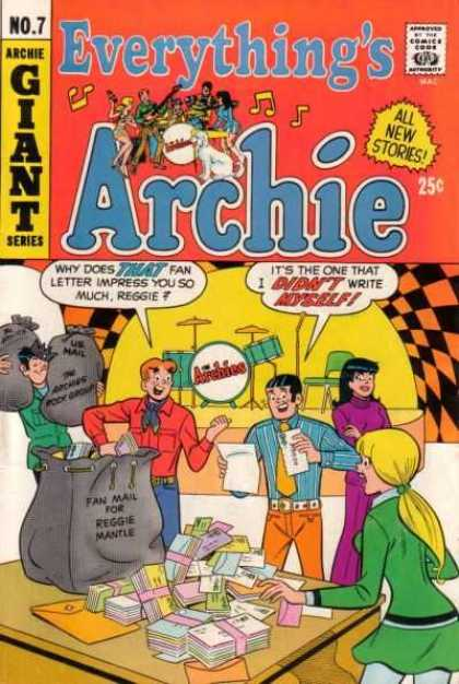 Everything's Archie 7 - Archie - Archie Comics - Party - Music - Band