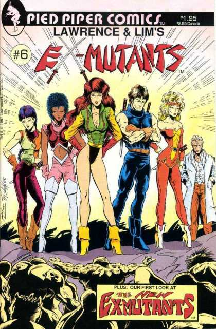 Ex-Mutants 6 - 6 - Pied Piper - Comic - Pied Piper Comics - Ron Lim