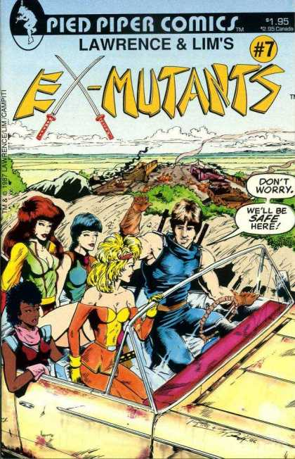 Ex-Mutants 7 - Ron Lim