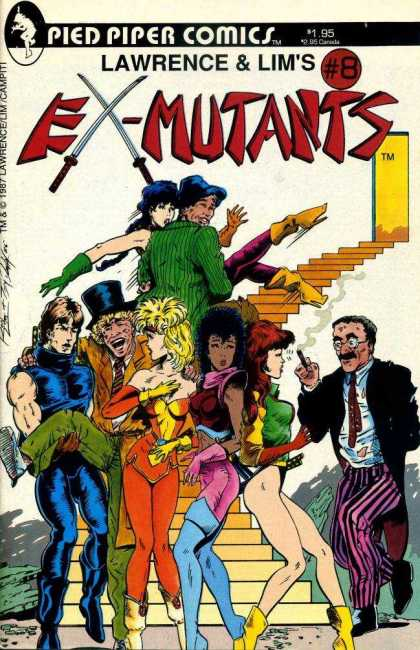 Ex-Mutants 8 - Ron Lim