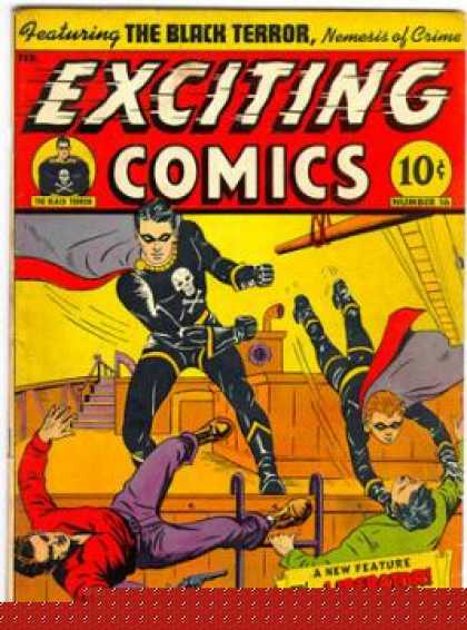 Exciting Comics 16