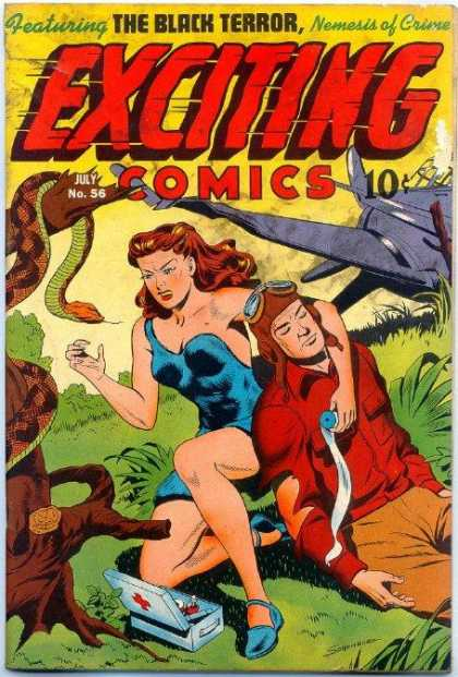 Exciting Comics 56 - Alex Schomburg