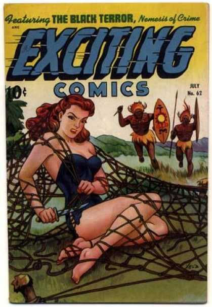 Exciting Comics 62 - Alex Schomburg
