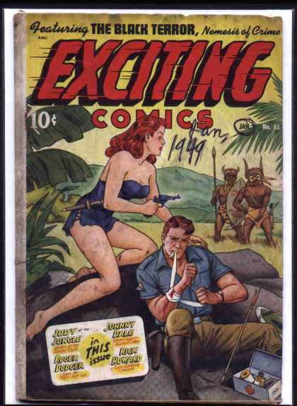 Exciting Comics 65 - Alex Schomburg