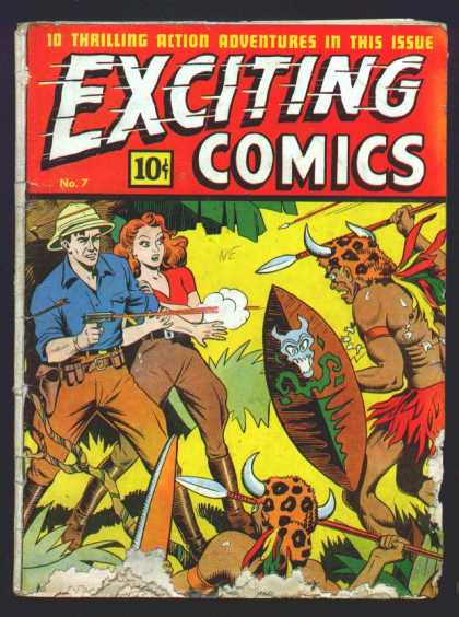 Exciting Comics 7