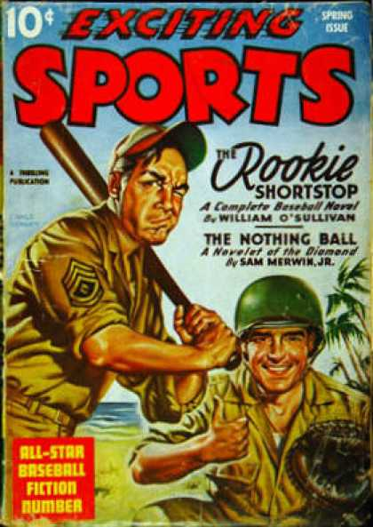 Exciting Sports - Spring 1944