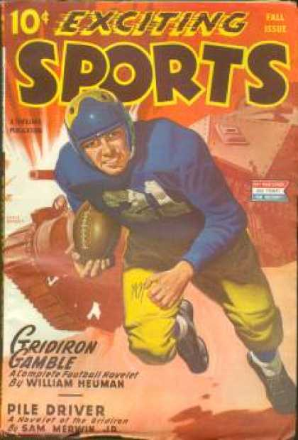 Exciting Sports - Fall 1945