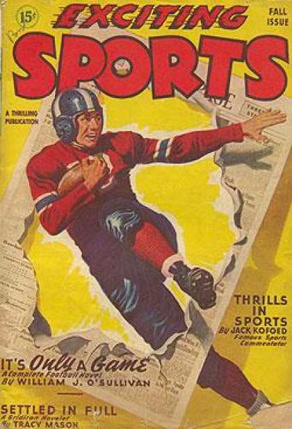 Exciting Sports - Fall 1946