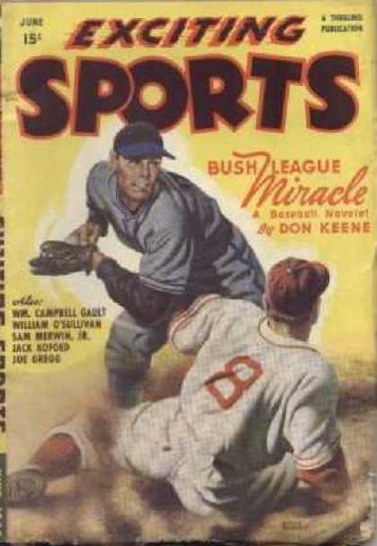 Exciting Sports - 6/1948