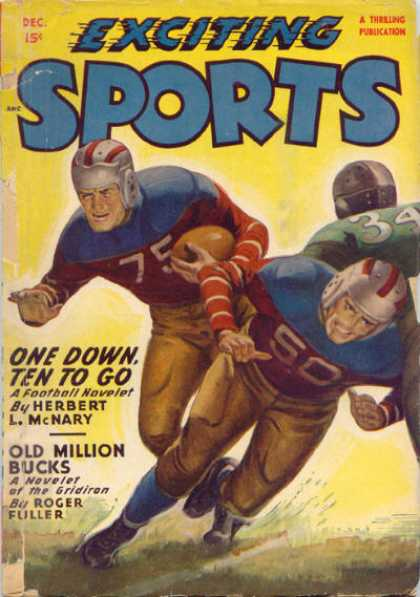 Exciting Sports - 12/1948