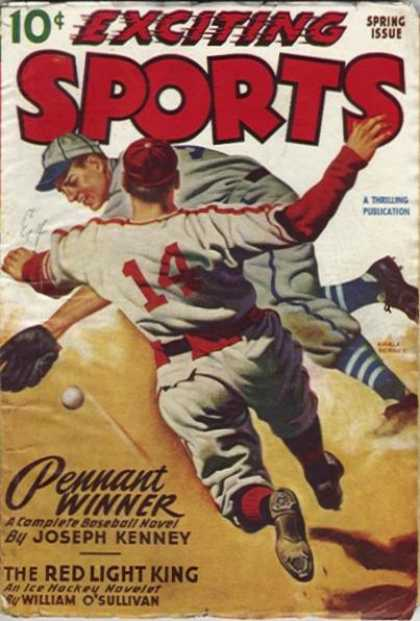 Exciting Sports - Spring 1949
