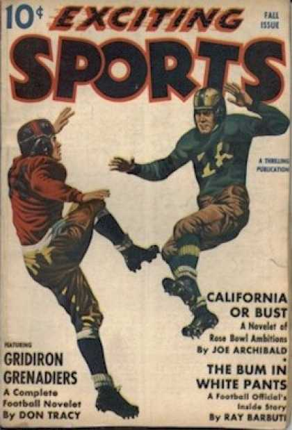 Exciting Sports - Fall 1941
