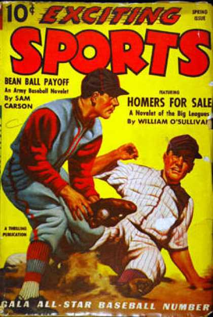 Exciting Sports - Spring 1942
